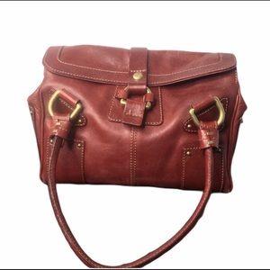 Nicoli Italia Blood Red Handbag